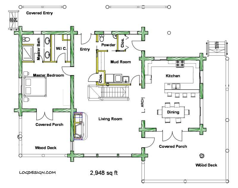 House Plans Square Feet