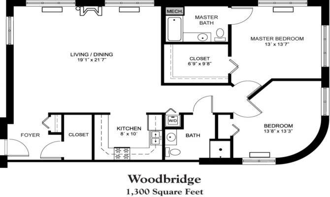 House Plans Square Foot Floor