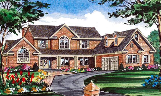 House Plans Traditional Tudor More