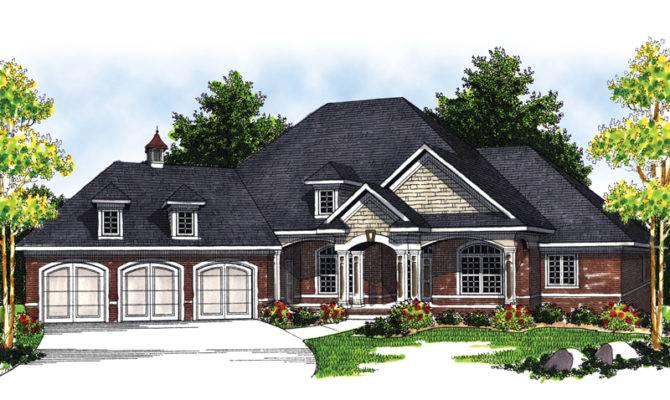 House Plans Tudor Traditional More