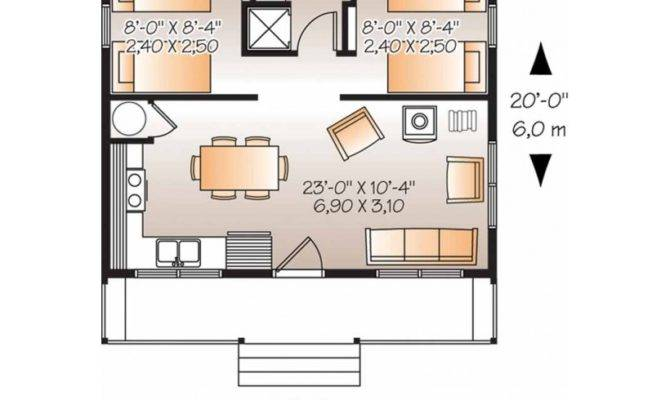 House Plans Two Bedroom Ranch Design