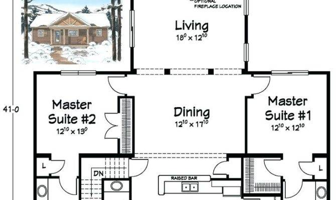 House Plans Two Master Suites One Level