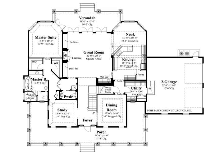 House Plans Waterfront Homes