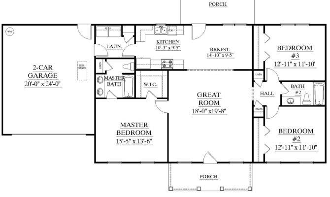 House Plans Without Garages Home Desain