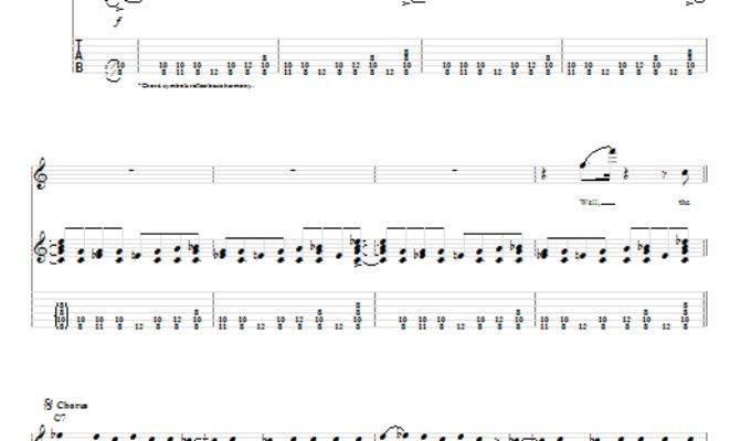 House Rockin Stevie Ray Vaughan Guitar Tab