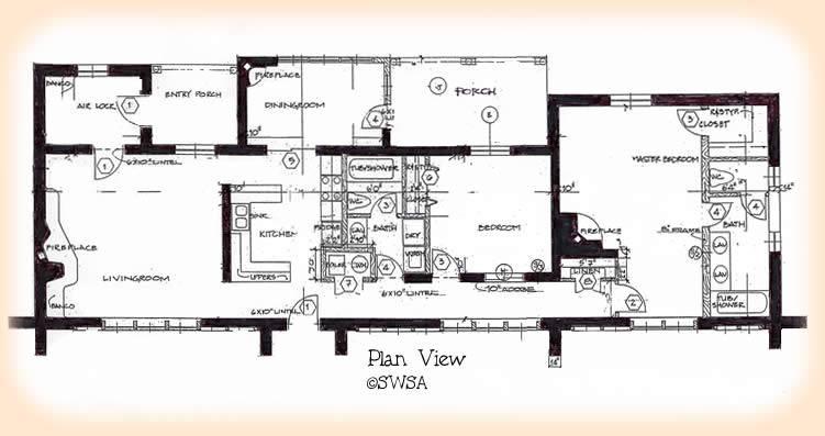 House Spacious Floor Two Bedroom Plans Modern Design
