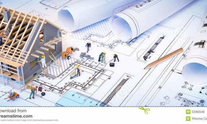 House Under Construction Blueprints
