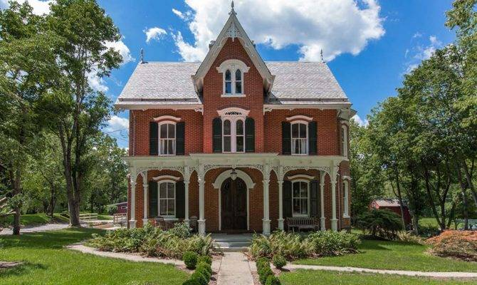House Week Gothic Revival Mansion Old
