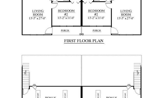 Houseplans Biz House Plan Duplex