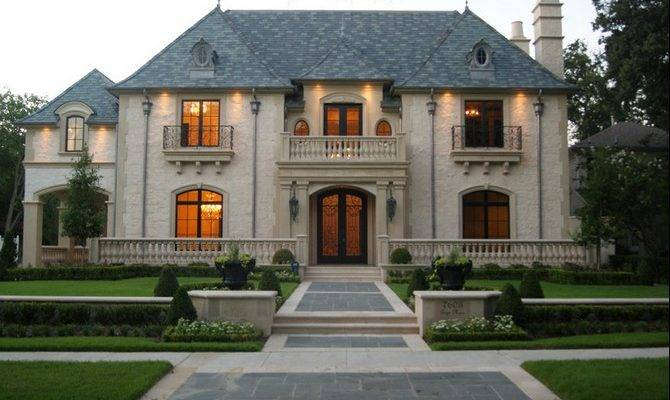 Houses French Architecture Top Amazing
