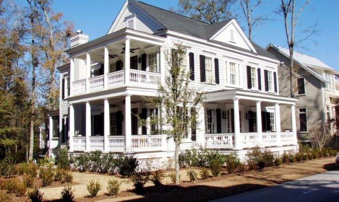 Houses Low Country House Plans
