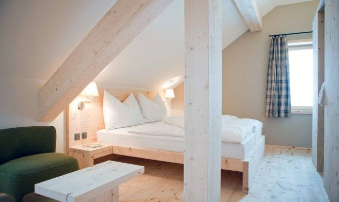 Houses Sloping Ceiling Making Awesome Attic Bedroom Ideas Decozt