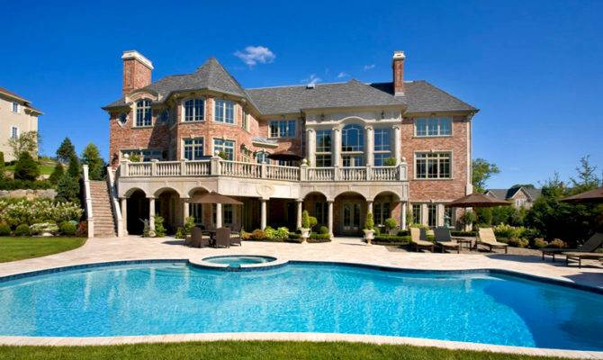Huge Mansion Brown Residence New Jersey Interior Better Decorating