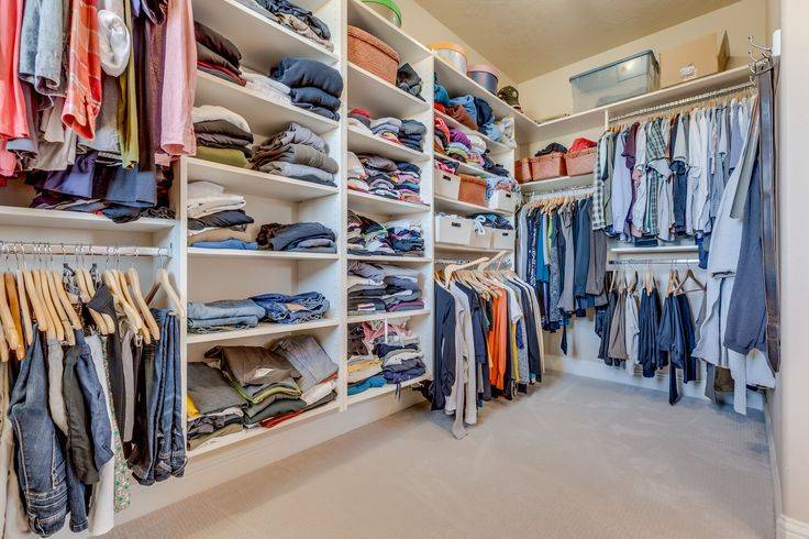 Huge Walk Closet Dream Homes Pinterest