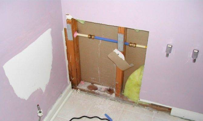 Humming Noise House Water Pipes Plan