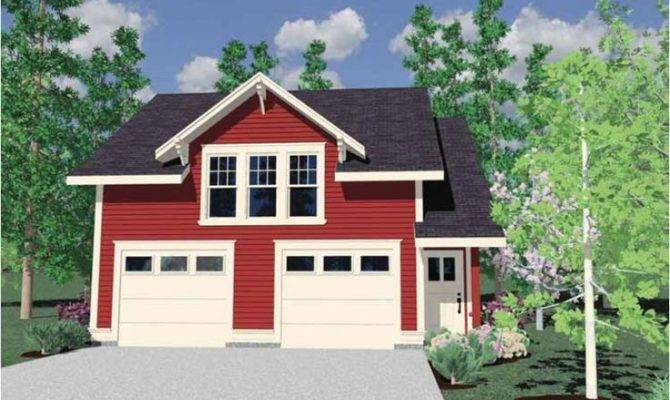 Hwepl Tiny Farmhouse Style Cottage Two Car Garage