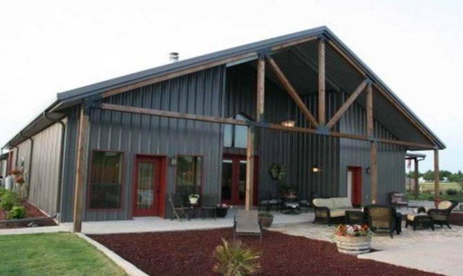 Ideas Building House Metal Plans
