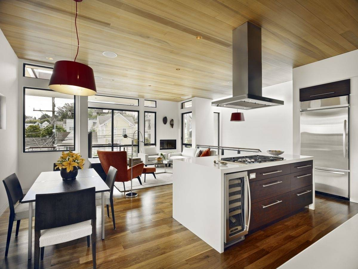 Ideas Combing Kitchen Dining Room