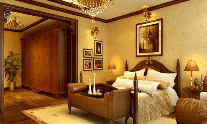 Ideas Country Style Bedroom Design