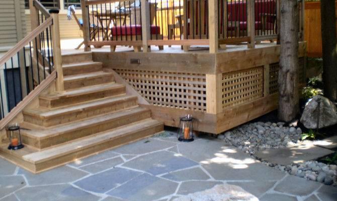 Ideas Deck Designs Stairs Improperly Installed
