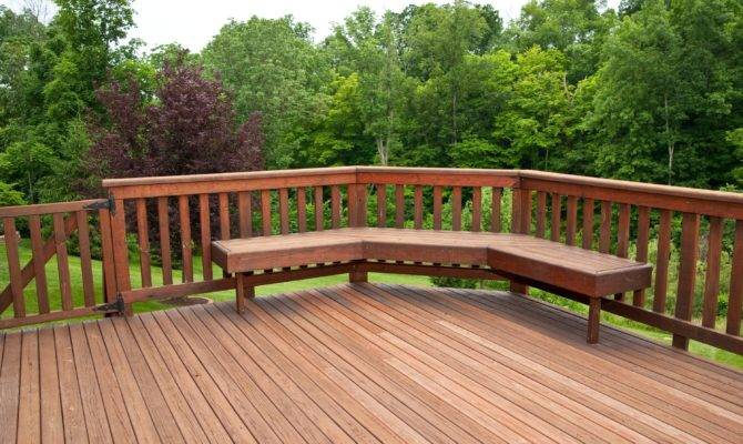 Ideas Forest Area Great Decks Design Backyard Decking