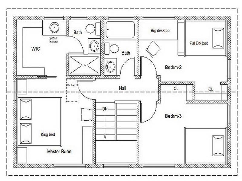 Ideas Small House Floor Plans Simple
