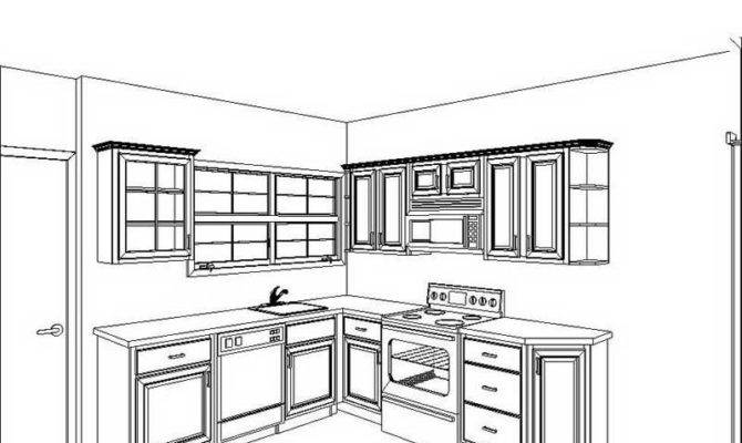 Ideas Small Kitchen Floor Plan Classic