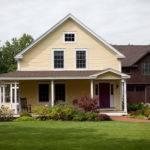 Idyllic Post Beam Farmhouse Yankee Barn Homes