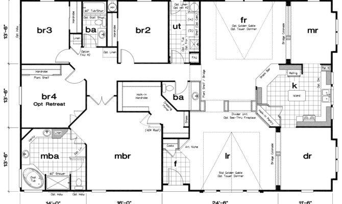 Imposing Mobile Home Floor Plans Tlc Manufactured Homes