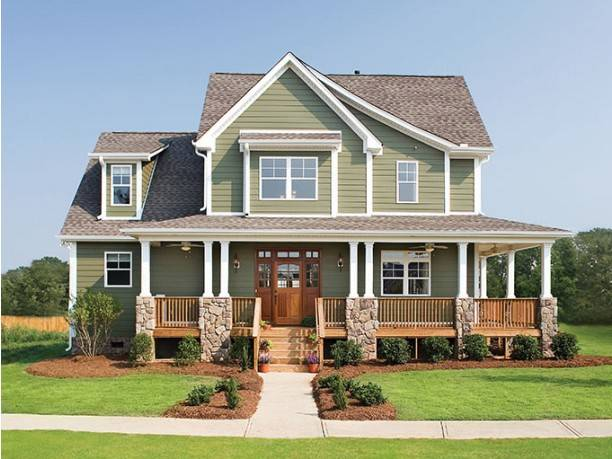 Impressive Farmhouse Wrap Around Porch Plans