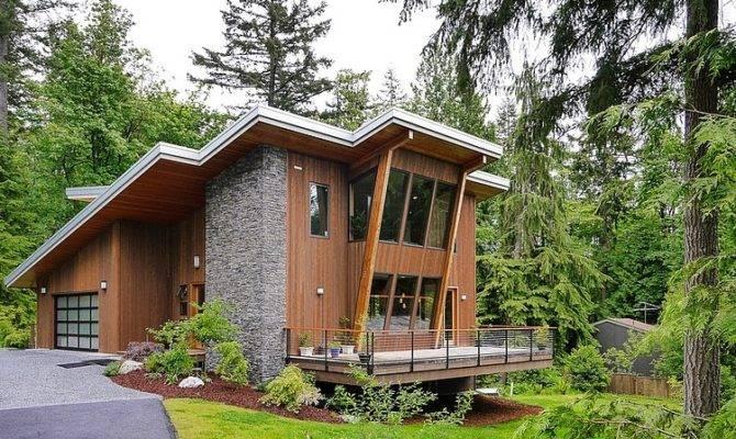 Impressive Modern Cottage Base Squak Mountain Washington