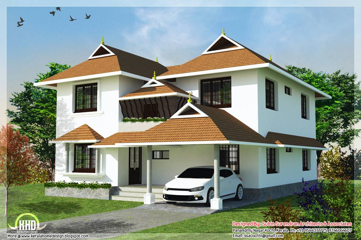 Impressive Traditional Kerala Home Designs
