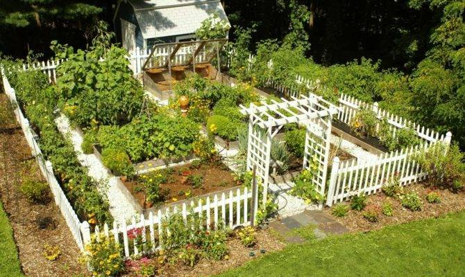 Impressive Vegetable Garden Designs Plans
