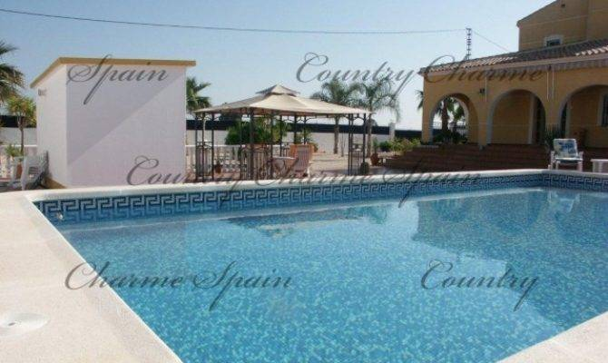 Impressive Villa Pool Garage Catral Country