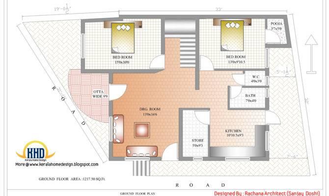India House Plan Ground Floor