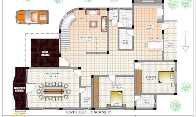 Indian Home Design House Plan Kerala