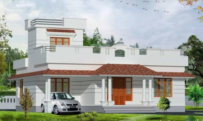 Indian House Designs Single Floor