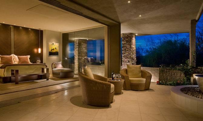 Indoor Outdoor Master Bedroom