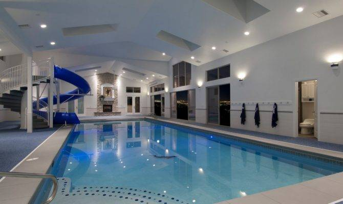 Indoor Swimming Pools Homes Rich