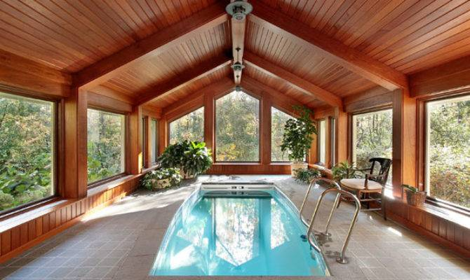 Indoor Swimming Pools House Plans More