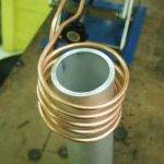 Induction Heating Aluminum Pipe Igbt Heater