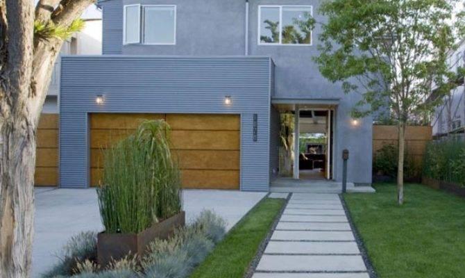 Industrial Style House Plan Suburban Exterior