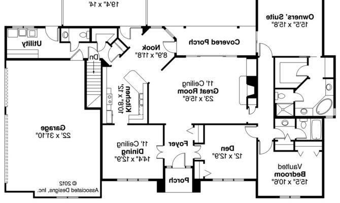 Ingraham Georgian Home Plans Floor Plan