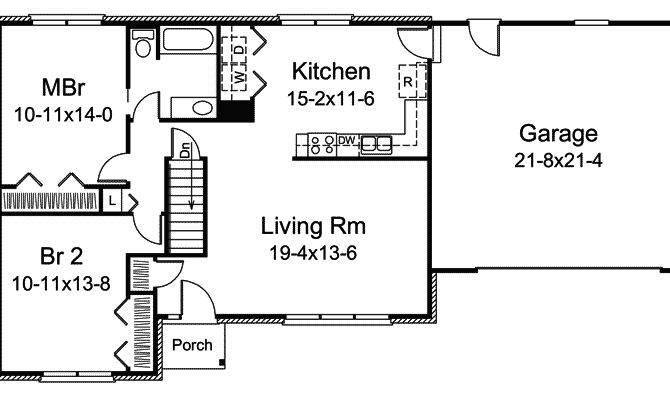 Inspiring Basic House Plans Simple Ranch