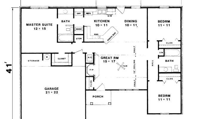 Inspiring Basic Ranch Floor Plans Home