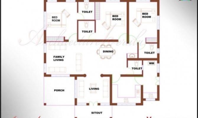 Inspiring House Plans Bedroom Home Design