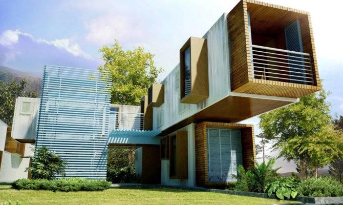 Inspiring Modular Container Home Designs Living