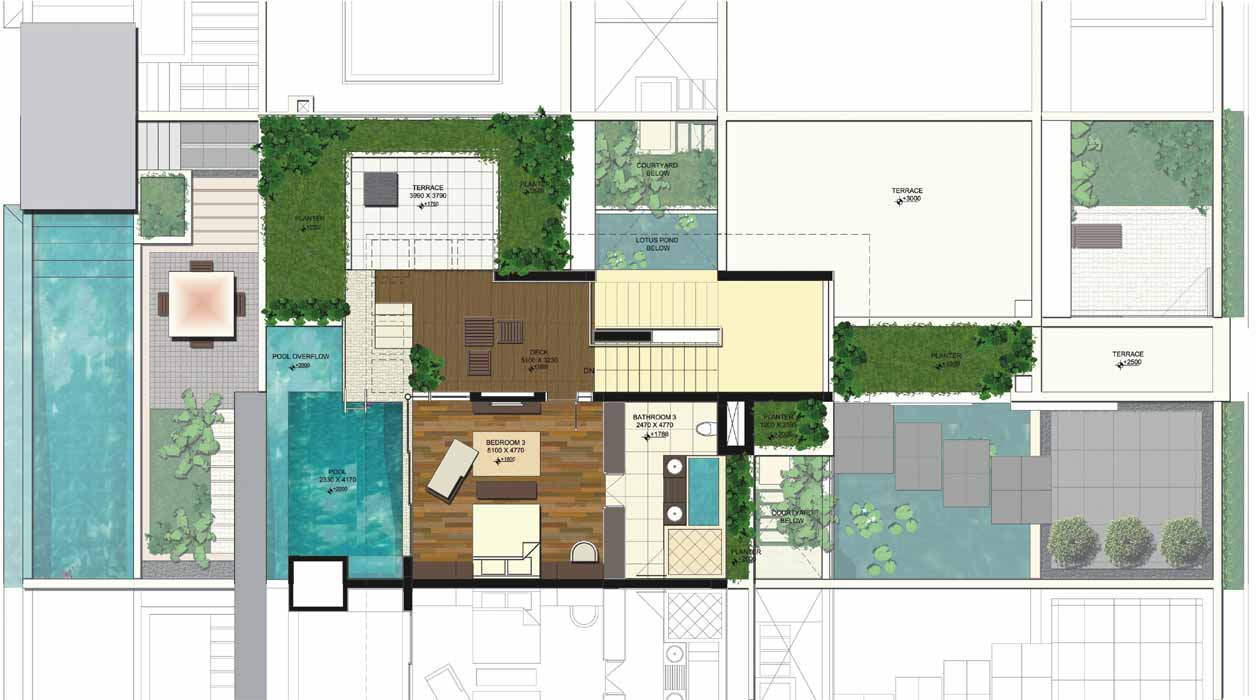 Inspiring Small Villa Plan House Plans