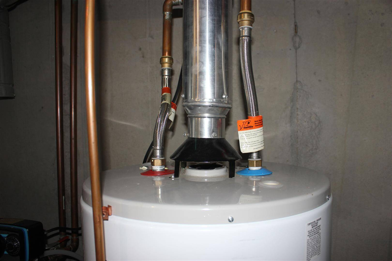Installing Pex Water Heater Connectors House Photos