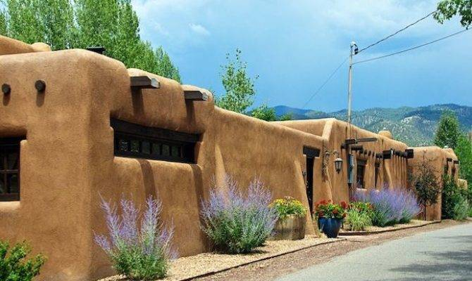 Interesting Looking House Pueblo Style